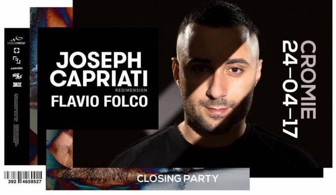 Joseph Capriati #Cromie #Closing